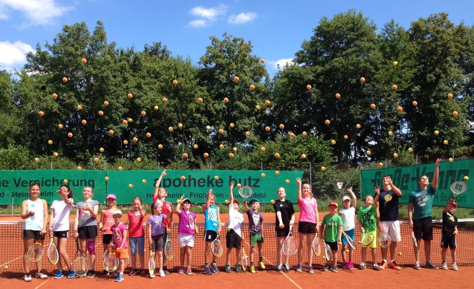 Der Tennisclub lädt zum Kinderferientag ein