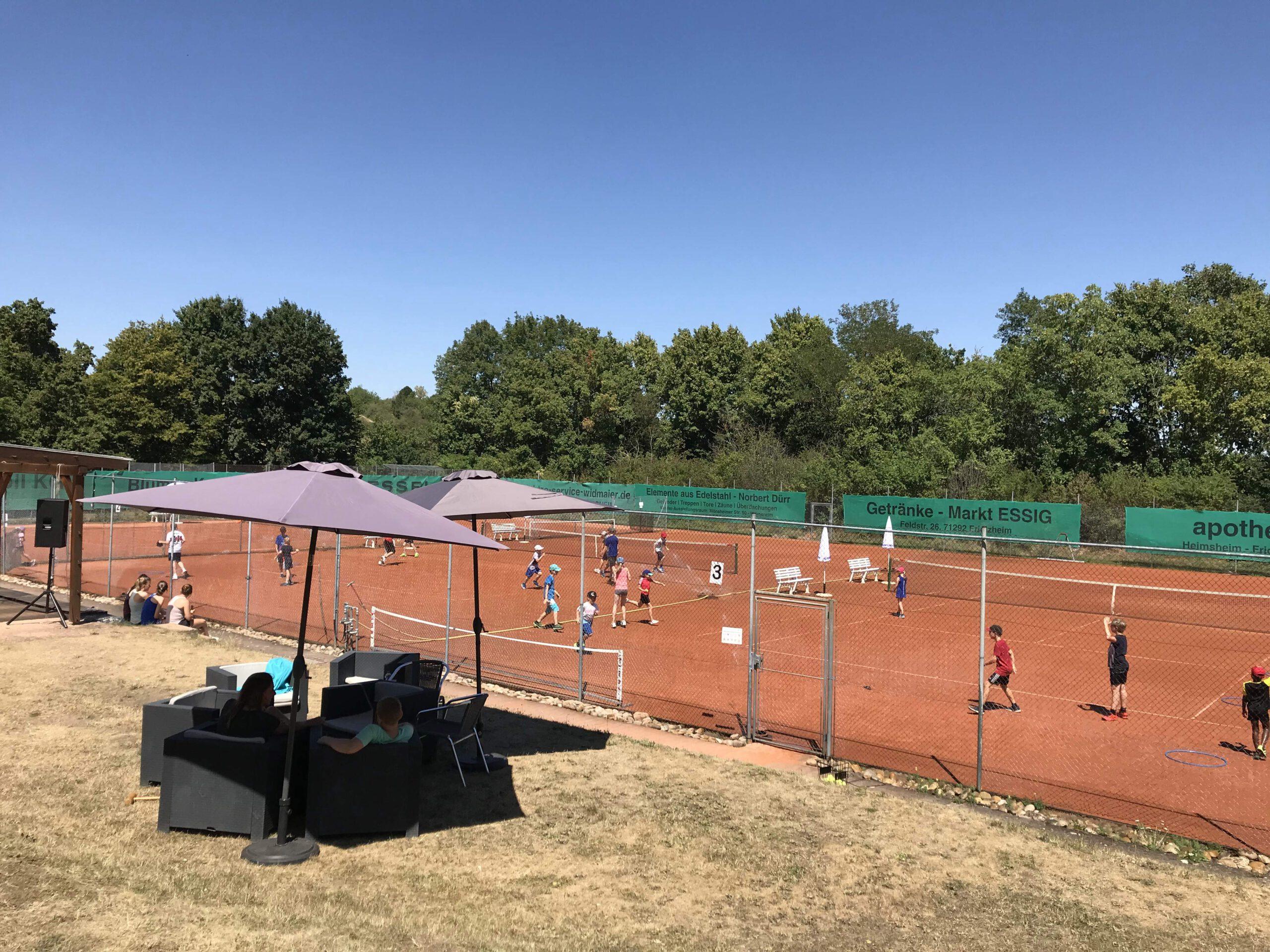 Ferienauftakt im Tenniscamp